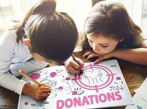 Пожертвовать деньги для детей