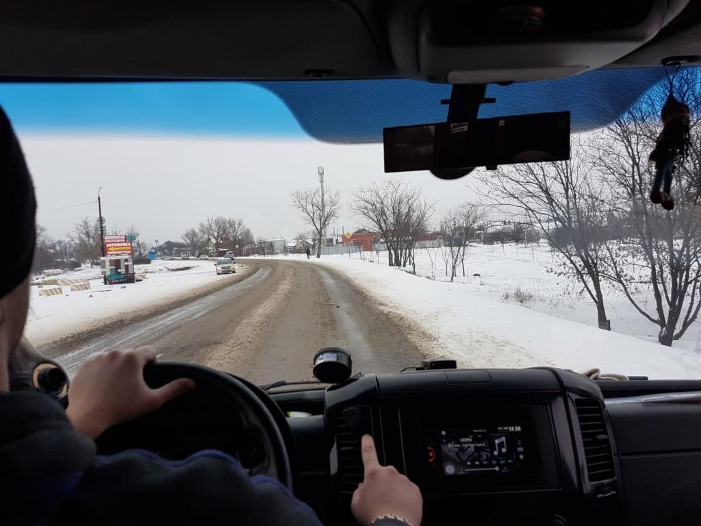 Дорога в Азов врачей волонтеров