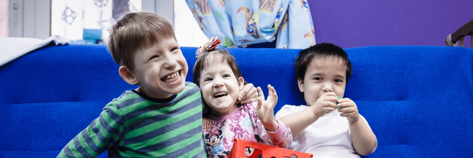 Счасливые дети